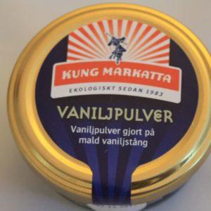 Vaniljpulver (eko)