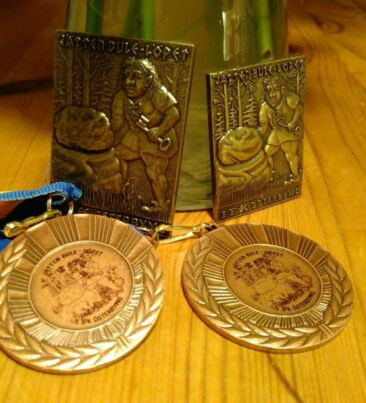 Fyra medaljer